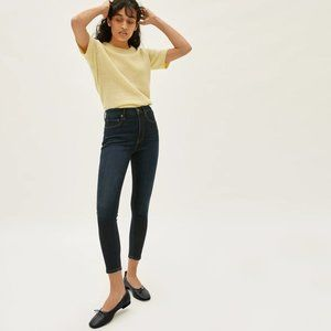 Everlane The Curvy High-Rise Skinny Crop Jean